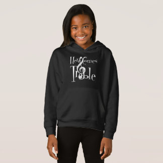 Treble Girl's Dark Hoodie