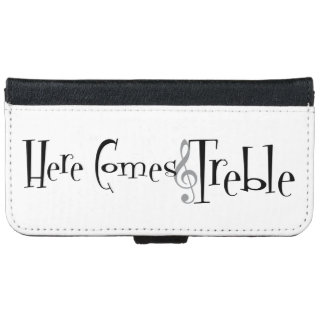 Treble iPhone & Samsung Wallet Case