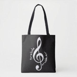 Treble Maker All-Over-Print Tote Bag