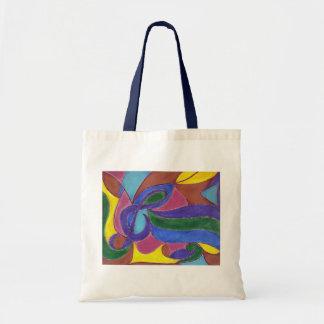 Treble Swirl Tote Bag