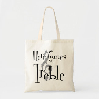 Treble Tote Bag