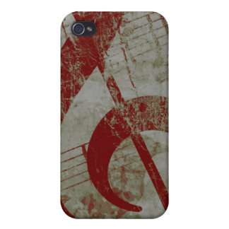 Trebled Raven iPhone 4 Cases