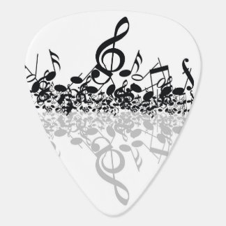 Treble's Shadow Guitar Pick (five)