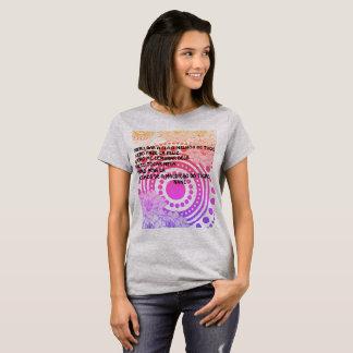 TRECHOS DE A MALDIÇÃO DO TIGRE T-Shirt