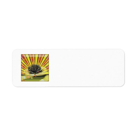 tree1 by. amarisperez return lables return address label