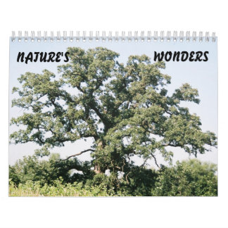 Tree-02, NATURE'S, WONDERS Calendar