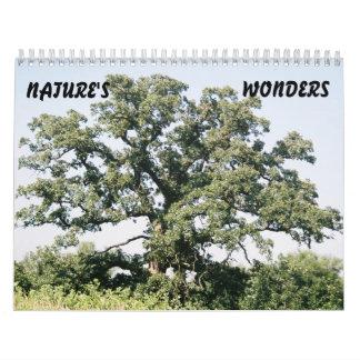 Tree-02, NATURE'S, WONDERS Wall Calendars