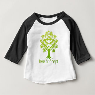 Tree Abstract Concept Baby T-Shirt