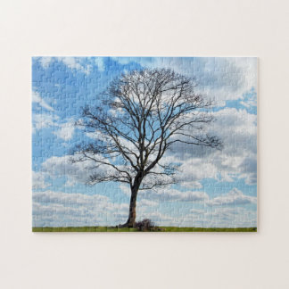 Tree and Blue Sky Puzzle