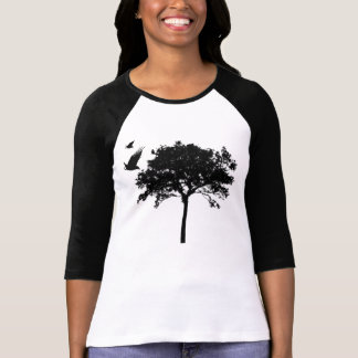 tree and crows T-Shirt
