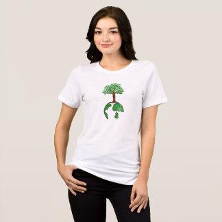 Tree and Globe Environment Day T-Shirt