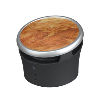 Tree Annual Rings Bluetooth Speaker