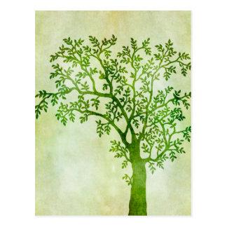 Tree Art Postcard