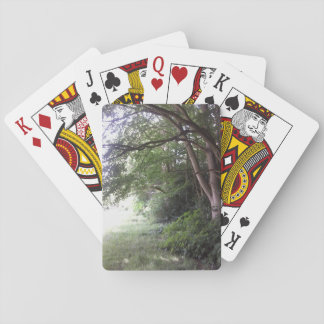 Tree at Woodland Edge Playing Cards 1