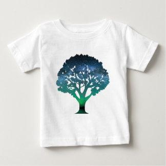 Tree Aurora Baby T-Shirt