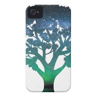 Tree Aurora iPhone 4 Cover