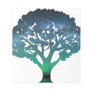 Tree Aurora Notepad