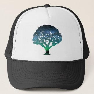 Tree Aurora Trucker Hat