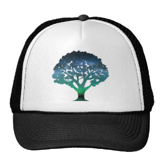 Tree Aurora Trucker Hat