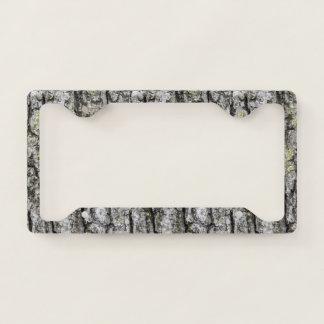 Tree Bark License Plate Frame