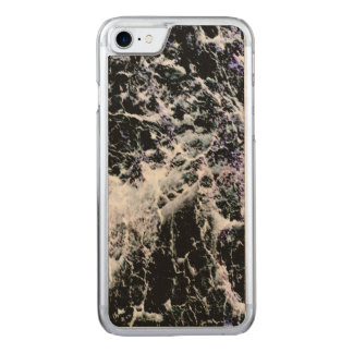 Tree Bark Negative Photo Carved iPhone 7 Case