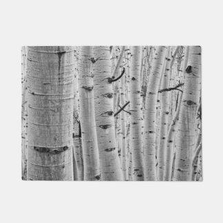 Tree Bark Pattern - Quaking Aspen Doormat