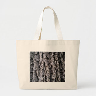 Tree Bark Photography Large Tote Bag
