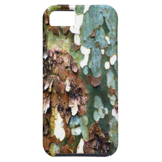 Tree Bark Textured iPhone 5 Barely There Case
