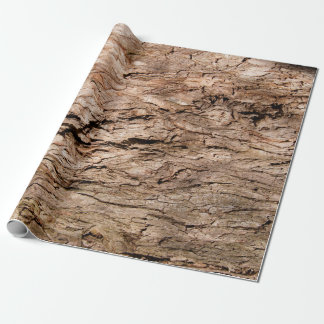 "Tree Bark Wrapping Paper, 30"" x 6' Wrapping Paper"