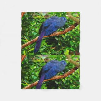 Tree Blue Bird Anniversaries Destiny Destiny'S Fleece Blanket