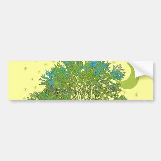 Tree Blues Bumper Sticker