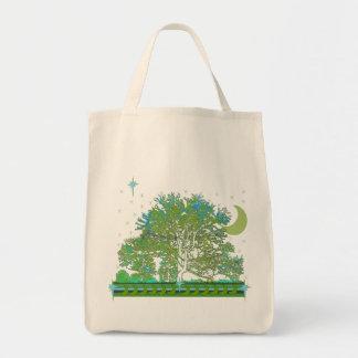 Tree Blues Tote Bag