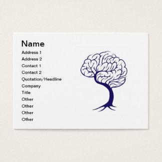 Tree brain business card