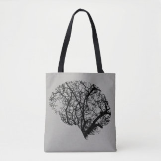 Tree Brain Tote Bag