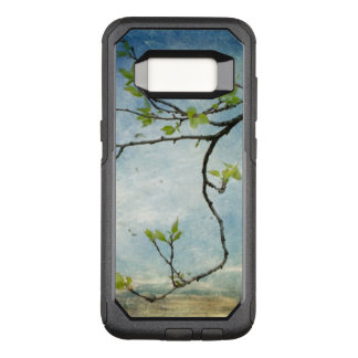 Tree Branch Over Textured Sky OtterBox Commuter Samsung Galaxy S8 Case