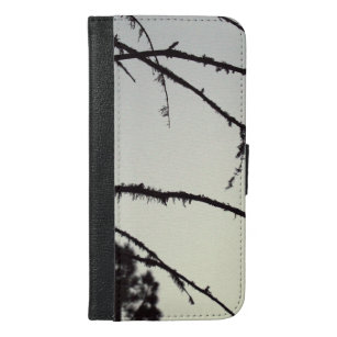 Tree Branch Silhouette iPhone 6/6s Plus Wallet Case