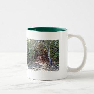 Tree Canopy Trail Coffee Mug