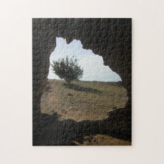 Tree Cave Travel Photograph Jigsaw Jigsaw Puzzle