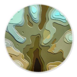 TREE CERAMIC KNOB