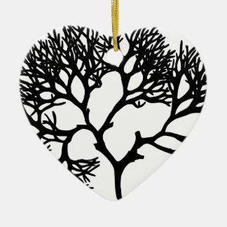 Tree Ceramic Ornament