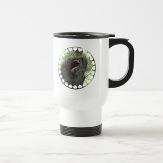 Tree Climbing Sloth Travel Mug