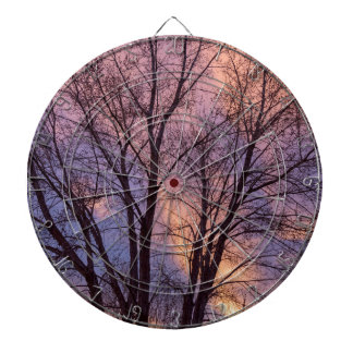 Tree Colors Of The Night Dartboard