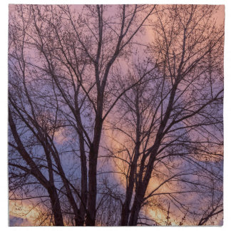 Tree Colors Of The Night Napkin