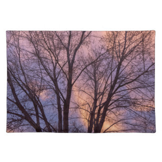 Tree Colors Of The Night Placemat