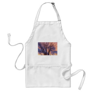 Tree Colors Of The Night Standard Apron