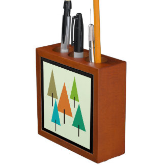 Tree Contemporary Art Desk Organizer