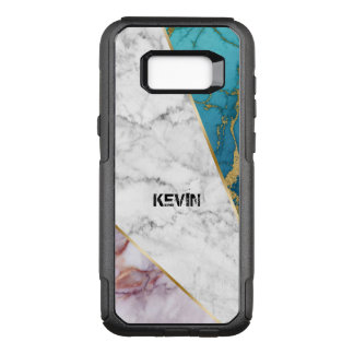 Tree Different Colors Marble geometric Design OtterBox Commuter Samsung Galaxy S8+ Case