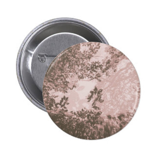 Tree Double Exposure (Pink) 2 Inch Round Button