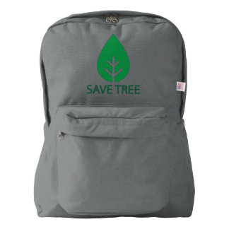 TREE EARTH SAVE BACKPACK