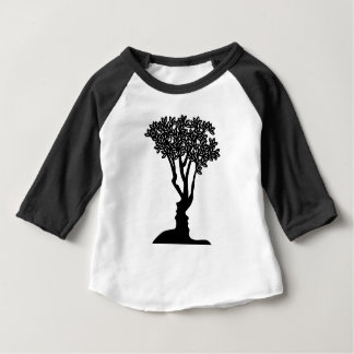 Tree Faces Optical Illusion Concept Baby T-Shirt
